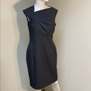 Calvin Klein Grey Pencil Dress sleeveless